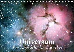 Universum. Farbenpracht der Gasnebel (Tischkalender 2019 DIN A5 quer) von Stanzer,  Elisabeth