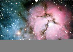 Universum. Farbenpracht der Gasnebel (Wandkalender 2019 DIN A3 quer)