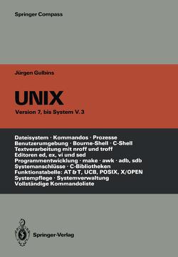 UNIX von Amon,  Angelika, Gulbins,  Jürgen
