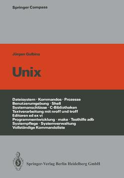 UNIX von Gulbins,  J.