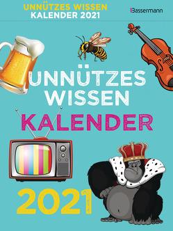 Unnützes Wissen Kalender 2021 ABK von Drews,  Gerald