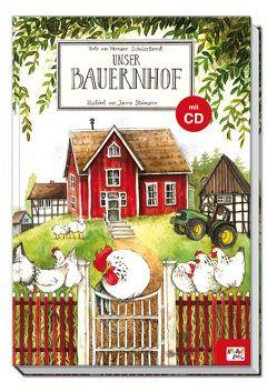 Unser Bauernhof mit Musical-CD von Schulze-Berndt,  Hermann, Steimann,  Janna, Ulrich,  Manfred