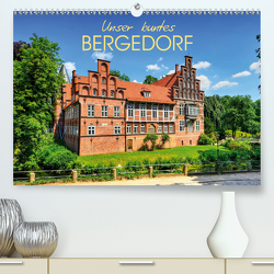 Unser buntes Bergedorf (Premium, hochwertiger DIN A2 Wandkalender 2020, Kunstdruck in Hochglanz) von Ohde,  Christian