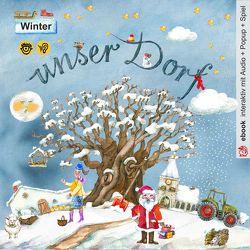 unser Dorf ~ Winter von Kerstin,  V. Strohm, Völtzke,  Kurt