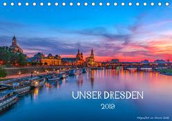 Unser Dresden. 2019 (Tischkalender 2019 DIN A5 quer) von Gnoth,  Ullrich