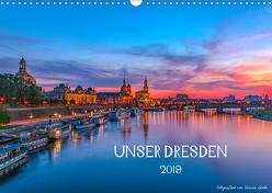 Unser Dresden. 2019 (Wandkalender 2019 DIN A3 quer) von Gnoth,  Ullrich