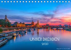 Unser Dresden. 2020 (Tischkalender 2020 DIN A5 quer) von Gnoth,  Ullrich