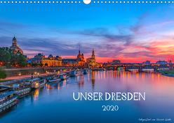 Unser Dresden. 2020 (Wandkalender 2020 DIN A3 quer) von Gnoth,  Ullrich