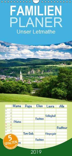 Unser Letmathe – Familienplaner hoch (Wandkalender 2019 , 21 cm x 45 cm, hoch) von vom Hofe,  Stefan