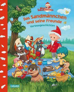 Unser Sandmännchen: Das Sandmännchen und seine Freunde von Dreller,  Christian, Flad,  Antje