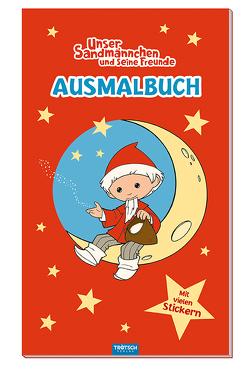 """""""Unser Sandmännchen und seine Freunde"""" Ausmalbuch"""