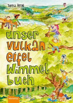 Unser Vulkaneifel Wimmelbuch von Herzog,  Theresa