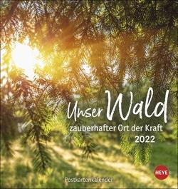 Unser Wald Postkartenkalender 2022 von Heye