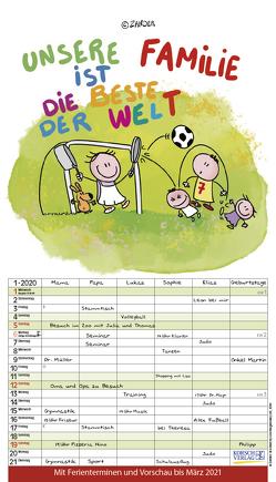 Unsere Familie ist die beste! 2020 von Holzach,  Alexander, Korsch Verlag