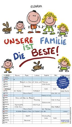 Unsere Familie ist die beste! 2022 von Holzach,  Alexander, Korsch Verlag