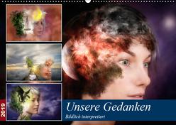 Unsere Gedanken Bildlich interpretiert (Wandkalender 2019 DIN A2 quer) von Gaymard,  Alain