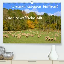 Unsere schöne Heimat – Die Schwäbische Alb (Premium, hochwertiger DIN A2 Wandkalender 2020, Kunstdruck in Hochglanz) von GUGIGEI