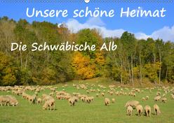 Unsere schöne Heimat – Die Schwäbische Alb (Wandkalender 2019 DIN A2 quer) von GUGIGEI