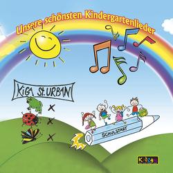 Unsere schönsten Kindergartenlieder von TopX Media,  Kidz4u, Weisshaar,  Armin