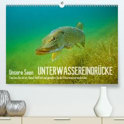 Unsere Seen (Premium, hochwertiger DIN A2 Wandkalender 2020, Kunstdruck in Hochglanz) von Hohlfeld,  Daniel
