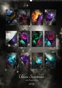 Unsere Sternbilder (Wandkalender 2019 DIN A2 hoch) von Glimm,  Simon