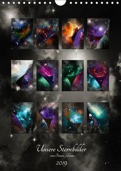 Unsere Sternbilder (Wandkalender 2019 DIN A4 hoch) von Glimm,  Simon