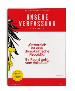 Unsere Verfassung als Magazin von Volleritsch,  Andreas