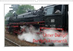 Unter Dampf – Dampflokromantik (Wandkalender 2021 DIN A3 quer) von Härlein,  Peter