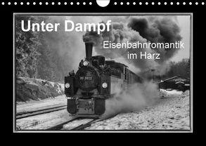 Unter Dampf – Eisenbahnromantik im Harz (Wandkalender 2018 DIN A4 quer) von Maurer,  Marion