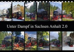 Unter Dampf in Sachsen Anhalt 2.0 (Tischkalender 2018 DIN A5 quer) von Gierok,  Steffen