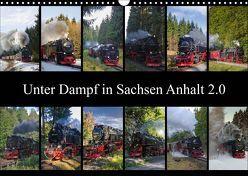 Unter Dampf in Sachsen Anhalt 2.0 (Wandkalender 2019 DIN A3 quer) von Gierok,  Steffen