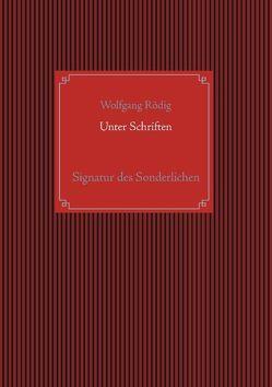 Unter Schriften von Rödig,  Wolfgang