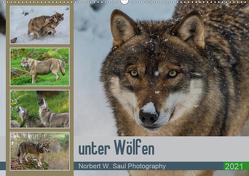 unter WölfenCH-Version (Wandkalender 2021 DIN A2 quer) von W. Saul,  Norbert