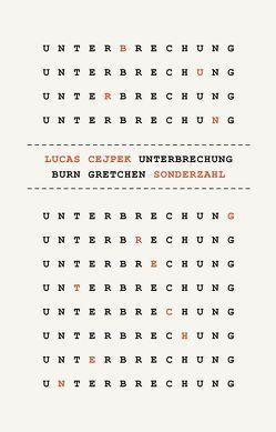 UNTERBRECHUNG von Cejpek,  Lucas