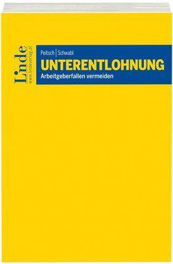 Unterentlohnung von Peitsch,  Christopher, Schwabl,  Armin