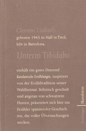 Unterm Tibidabo von Lindner,  Clemens