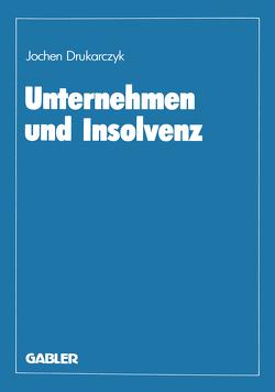 Unternehmen und Insolvenz von Drukarczyk,  Jochen