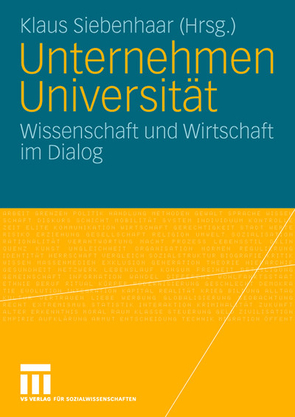 Unternehmen Universität von Siebenhaar,  Klaus