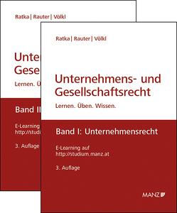 Unternehmens- und Gesellschaftsrecht, Band 1 + 2 von Ratka,  Thomas, Rauter,  Roman, Völkl,  Clemens