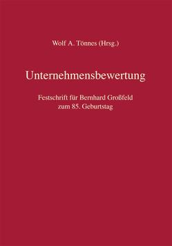 Unternehmensbewertung von Tönnes,  Wolf Achim
