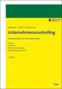 Unternehmenscontrolling von Auerbach,  Jan, Derfuß,  Klaus, Holtrup,  Michael, Littkemann,  Jörn