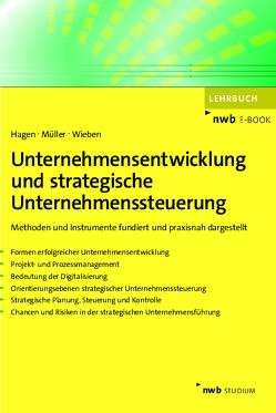 Unternehmensentwicklung und strategische Unternehmenssteuerung von Hagen,  Volker, Müller,  Dominik Matthias, Wieben,  Hans-Jürgen