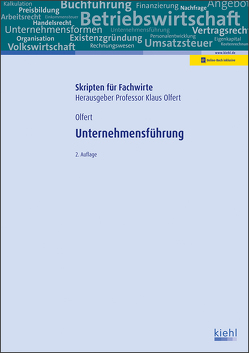 Unternehmensführung von Olfert,  Klaus
