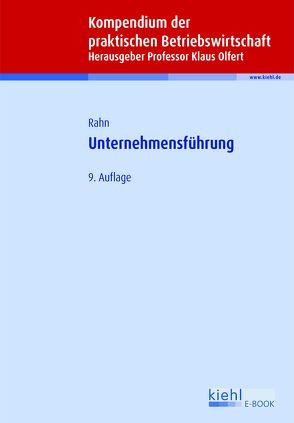 Unternehmensführung von Olfert,  Klaus, Rahn,  Horst-Joachim