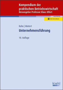 Unternehmensführung von Mintert,  Svenja, Olfert,  Klaus, Rahn,  Horst-Joachim