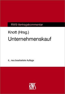 Unternehmenskauf von Knott,  Harmann J.