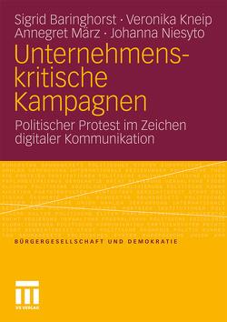 Unternehmenskritische Kampagnen von Baringhorst,  Sigrid, Kneip,  Veronika, März,  Annegret, Niesyto,  Johanna