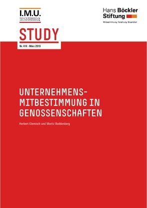 Unternehmensmitbestimmung in Genossenschaften von Boddenberg,  Moritz, Klemisch,  Herbert