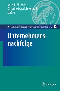 Unternehmensnachfolge von Beck,  Karin E. M., Osterloh-Konrad,  Christine