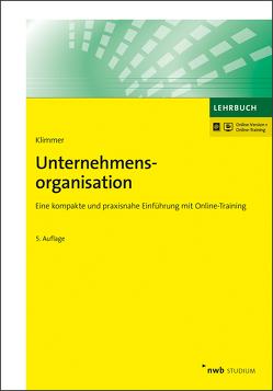 Unternehmensorganisation von Klimmer,  Matthias